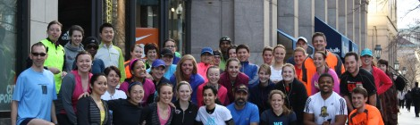 City Sports Run Club with CS by City Sports Apparel